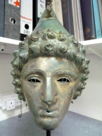 Roman parade helmet